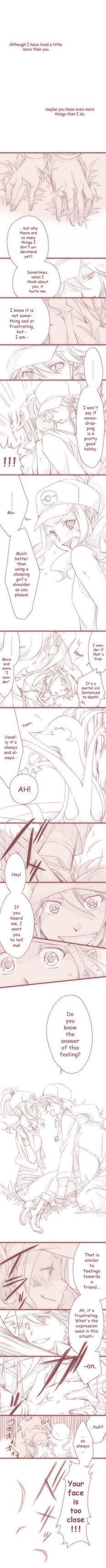 N and touko wedding - Pokemon White And Black Touko X N I Don T Understand