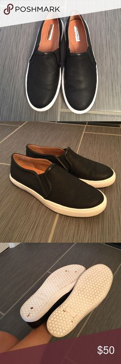 Halogen slip ons Great condition slip ons. These were only worn once Halogen Shoes Flats & Loafers