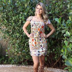 Esse vestido é puro charme...💝💝💝💝💝💝 #weloveanames #springsummer16 #dress