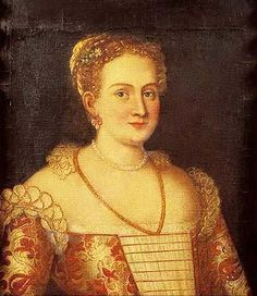 Follower of Veronese Portrait of a Lady with a Pearl Necklace