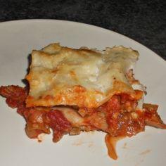 Cornish Hen Lasagna recipe