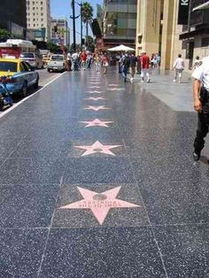 Hollywood Walk of Fame....so much fun!!!