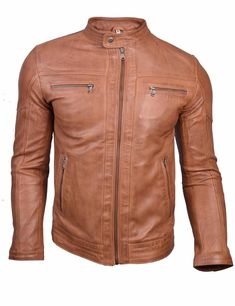 Colors may vary slightly from original due to individual monitor color settings and/or light conditions when photographed. Men's Leather Jacket, Biker Leather, Faux Leather Jackets, Real Leather, Leather Men, Uniform Shirts, Work Shirts, Leather Fashion, Mens Fashion