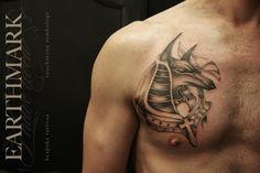 Anubis Tattoo | Janene Steenkamp @ Earthmark Tattoo Studio, Johannesburg, South Africa | Work in progress...