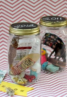 7. Memory in a Jar - 9 Unique DIY Gifts for Your Loved Ones ... → DIY