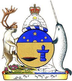 Coat of Arms of #Nunavut | #heraldry
