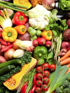 BLOG NEWS: Eat more vegetables and fruit, particularly green, orange and red vegetables