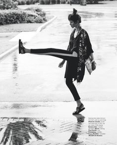 the karate kit: diana gartner by hans van brakel for marie claire netherlands august 2014