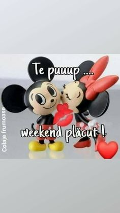 Happy Weekend, Mickey Mouse, Baby Mouse