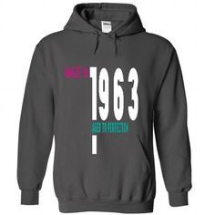 1963 AGED AGED To Perfection T Shirts, Hoodies. Check Price ==► https://www.sunfrog.com/No-Category/1963-AGED--AGED-To-Perfection-1596-Charcoal-46464677-Hoodie.html?41382