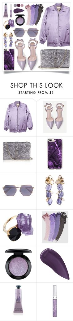 """""""I Can't"""" by racanoki ❤ liked on Polyvore featuring H&M, Yves Saint Laurent, Casetify, Dolce&Gabbana, Marni, Gucci, MAC Cosmetics, Lipstick Queen, Therapy and Sisley"""