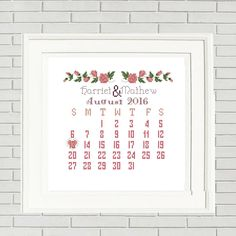 Wedding cross stitch pattern is a wonderful gift for your friends and family, especial for a new wedding or engag.When you purchase this pattern, please send us the following information Couple names and Wedding date (or Date couple was engaged ) in the Note to Seller section at checkout. We'll send you the new personalized pattern... We will send your customized pattern within 48 hours by e-mail!❀❀❀WHAT YOU NEED TO DO❀❀❀••••••••••••••••••••••••••••••••••••••••••••••••...
