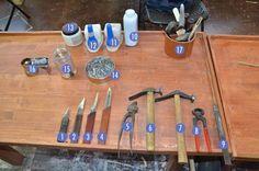 basic shoe-making supplies; shoesandcraft, shoemaker's blog about shoemaking