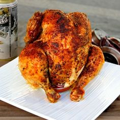 A Bachelor His Grill's secret recipe for Beer Can Chicken! This is the LAST time you ever grill a dried out, flavorless Bird!! Not only is this recipe 7 kinds of amazing, but virtually fool-proof! There are a 1,700,030 different flavor variations depending upon your partiality towards one