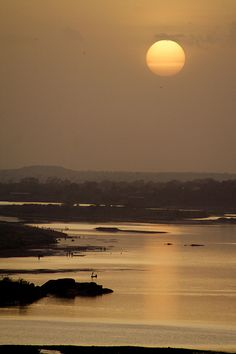 Sunset in Niamey, Niger   by Rodrigo A. Saucedo