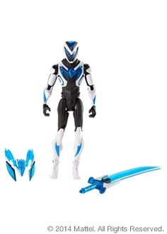 SDCC 2014 Exclusive - Mattel - Turbo Charged Max Steel™ w/Weaponized Steel - $20.00
