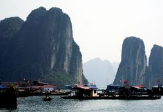 Halong Bay, Floating Village- Vietnam