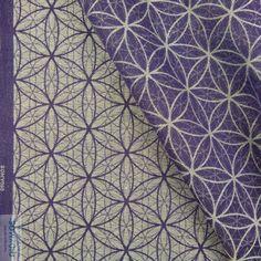 Didymos Amethyst Flower of Life Woven Wrap   Purple Elm Baby