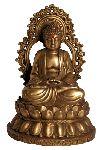 Chinese Shakyamuni Buddha Statue