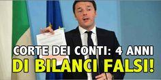 4 ANNI DI BILANCI FALSI!