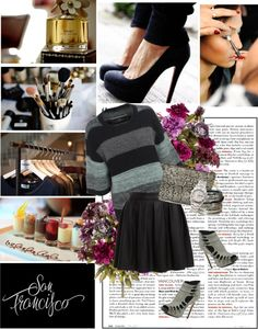 """""""Why so grey?"""" by miss-raspberry-92 ❤ liked on Polyvore"""