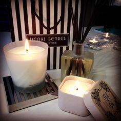Spontaneous candle #shoppingspree today at #HenriBendel!! #Padgram