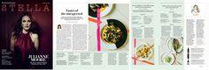 Bodo Sperlein Stella Magazine The Telegraph Nikko    http://www.bodosperlein.com  #Nikko #Dibbern #Blossom #StellaMagazine #Plates #Tableware #Dinner #DinnerIdeas