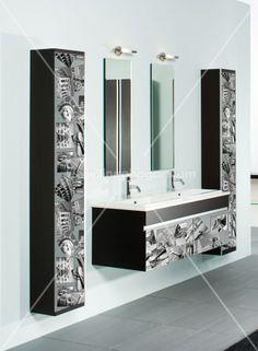 www.lineahogar.com MY WAY self-adhesive aluminum printed film. Customize your home. Home decor.