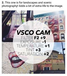 VSCO - Best Filters For Instagram Success! No. 2