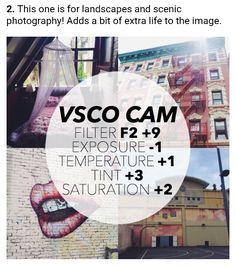 VSCO CAM - Filtro F2+9 Exposição -1 Temperatura +1 Matiz +3 Saturação +2