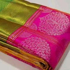 Gold Ornaments Design, Mustard Oil For Hair, Saree Dress, Sari, Saree Tassels Designs, Kanjivaram Sarees Silk, Gold Jewelry, Gold Necklace, Traditional Silk Saree