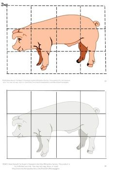 Puzzles are not only fun for children they have a lot of benefits. Some of those benefits are developing problem solving skills, fine motor skills, and hand eye coordination. Students will enjoy these Farm Animal inspired puzzles. Students cut out puzzle pieces and then paste onto the corresponding page. Or, if you prefer, laminate them and use them as a regular puzzle that can be worked again and again.