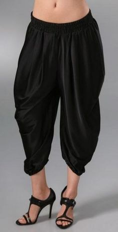 Come on people, let's leave this kind of trousers to the Sultans ...