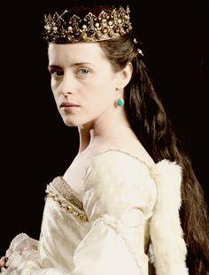 Claire Foy, who plays Anne Boleyn in Wolf Hall