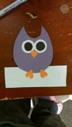 I actually stole this door dec idea from someone else, but these were the owl door decs. Board is in other post. #owl #doordecs #RA