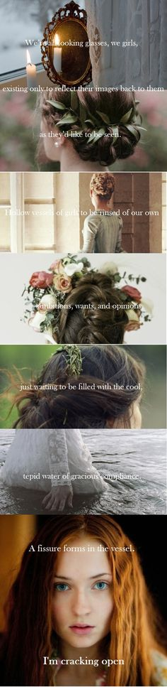 Quote from: A Great and Terrible Beauty by Libba Bray Images from: http://girllostinafairytale.tumblr.com/