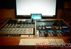 mastering studio of friend John McCaig