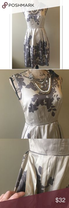 Ann Taylor Silk dress with POCKETS Very good condition, no signs of wear. Dry clean only. True to size. Add this to a bundle to save 15%. Ann Taylor Dresses