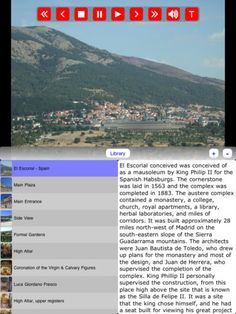 Tour El Escorial _ Spain for only $2.99 on your iPad. Satisfaction guaranteed #MuseumPlanet