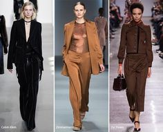 New York Fashion Week Fall 2016 Modetrends: Broekpak voor vrouwen