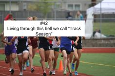 Another problem. I hate track! bring back cross country !