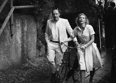 Cate Blanchett and Kevin Spacey for IWC Days in Portofino, photographed by Peter Lindbergh, 2011.
