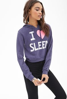 Love Sleep Boxy Hoodie #Sweater #Graphic Omg yeeeeeeeeeeeesss!!