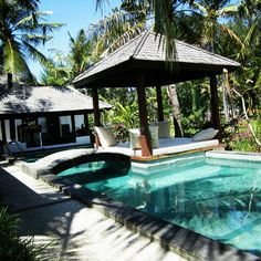 Gili island. Gili trawangan resort.
