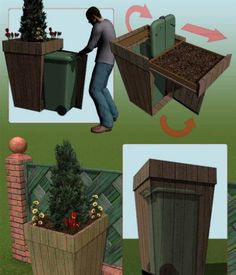 Bins That Win: Nine Clever Ways to Hide Your Trash Can