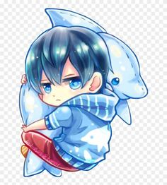 Chibi boy with his dolphin Kawaii Anime, Cute Anime Chibi, Kawaii Chibi, Cute Anime Boy, Art Anime, Anime Kunst, Sparkle Png, Walpapers Cute, Anime Bebe
