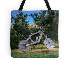 """""""You Might Be In Sturgis Country If"""" Tote Bags by Debra Martz 
