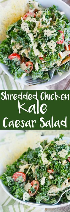 This salad will be your new obsession! Based off of Sweetgreen's kale caesar, you will wonder how you've lived without this salad for so long!