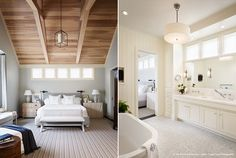 Dillon Kyle Architecture - Love the windows in both rooms and the ceiling in the bedroom. The bathroom is awesome!