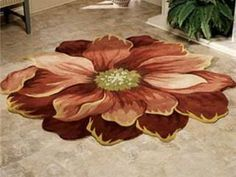 Mundo do Artesanato: Tapetes Gigantes de Flores